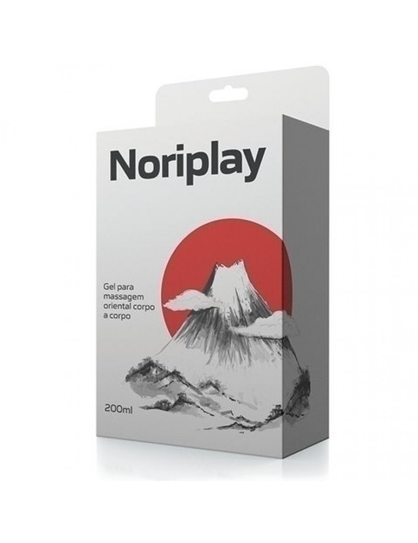 Noriplay - Gel para Massagem Oriental Corpo a Corpo 200ml