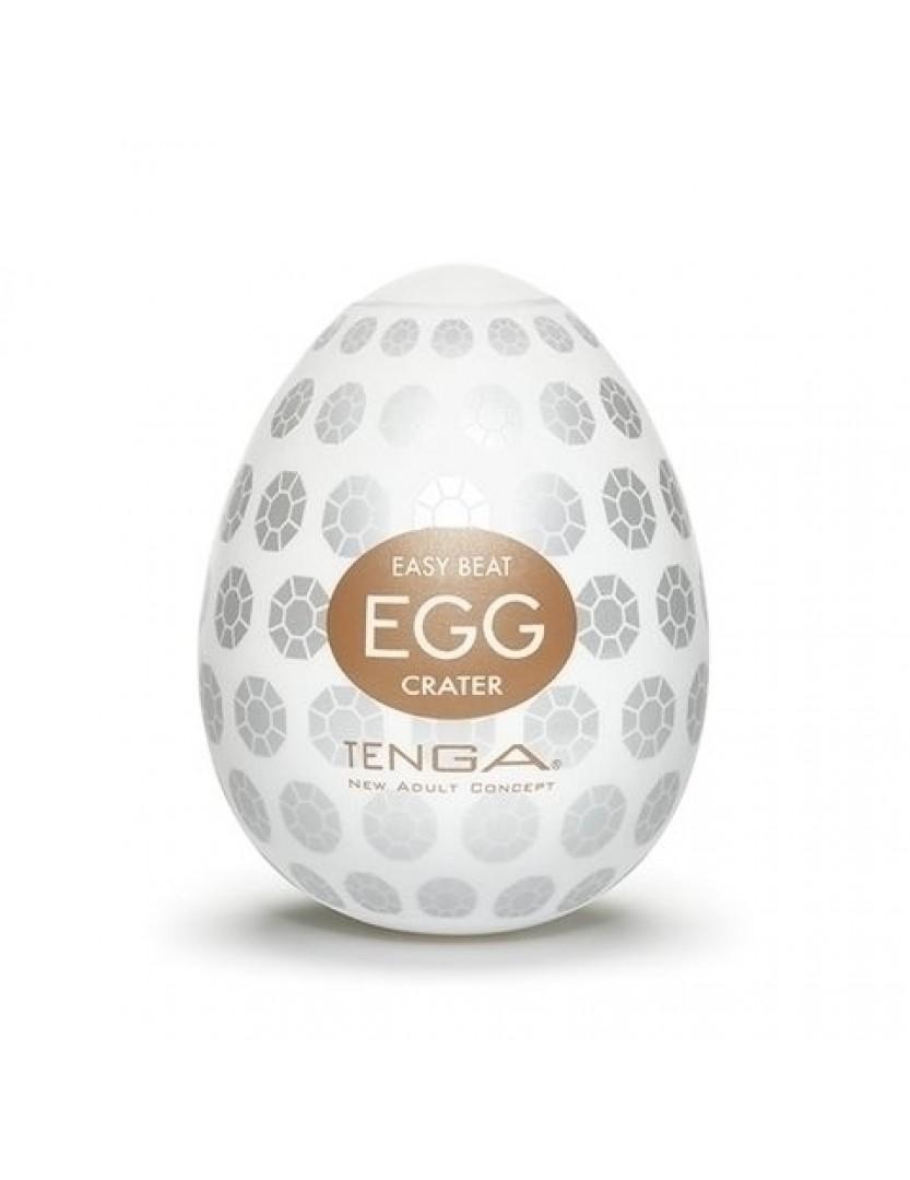 Masturbador Tenga Egg - Crater - Sensações + Intensas