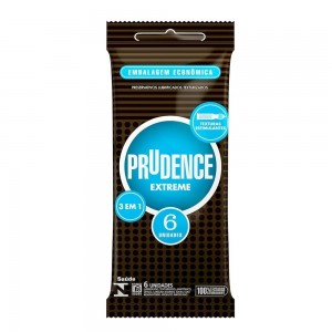 Preservativo Prudence Extreme - 6 Unidades