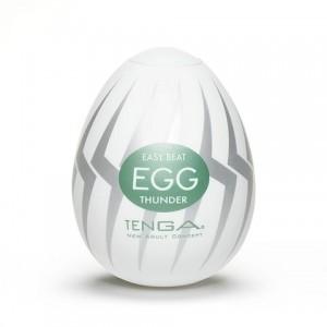 Masturbador Tenga Egg - Thunder - Sensações + Intensas
