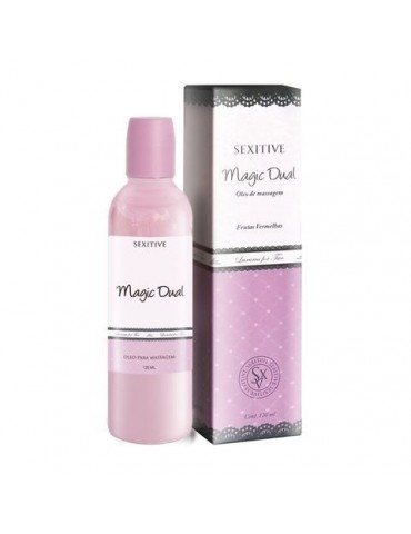 Magic Dual Sexitive - Óleo de Massagem e Lubrificante 120ml