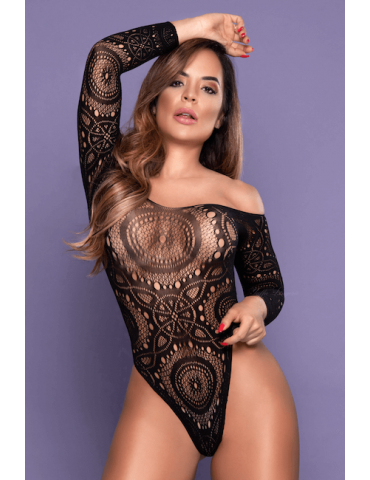 Body Ombro a Ombro Sexy - Bodystocking Yaffa