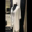 Robe feminino curto em microfibra e renda Royal