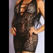 Mini Vestido Cavado Sensual - Bodystocking Yaffa
